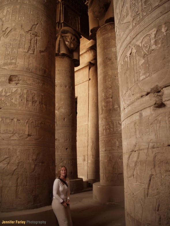 Jennifer Farley in Egypt