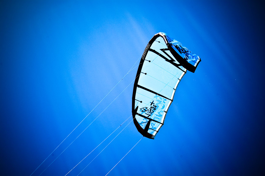 kiteboard kite by Jennifer Farley