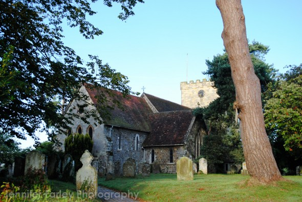 Churchyard Near Hellingly , East Sussex